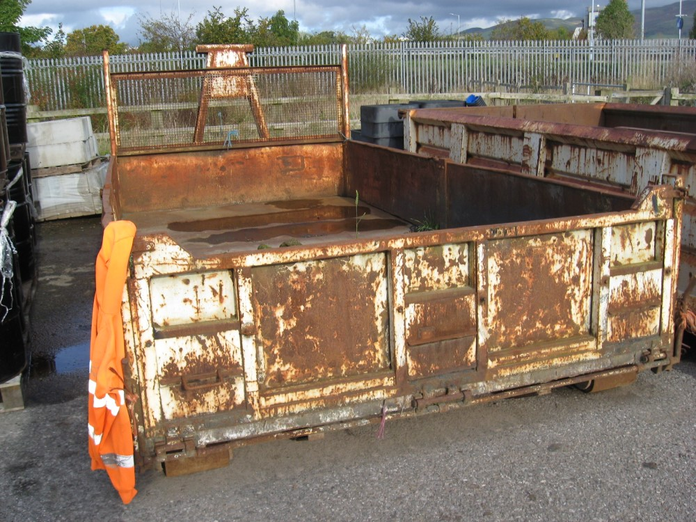HOOK LIFT BODY (DIRECT COUNCIL) TO BE SOLD ON SITE AT RUTHIN - RING FOR DETAILS [+ VAT]