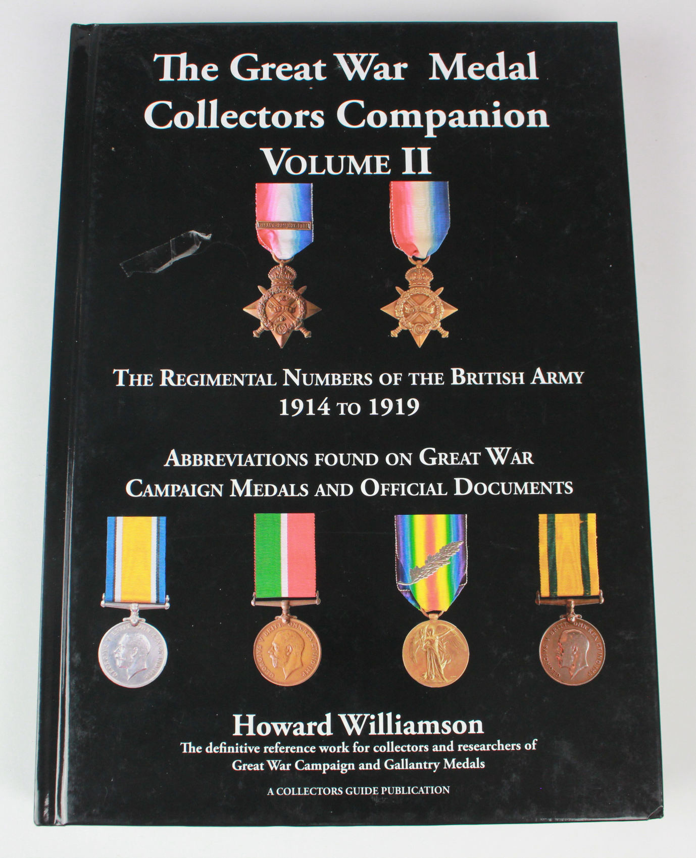 Book: The Great War Medal Collector's Companion Volume 2