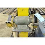 """8"""" x Approx. 3/4-HP, Post-Mounted Double End Grinder, with (1) Grinding Wheel & (1) Wire Wheel, 1-PH"""