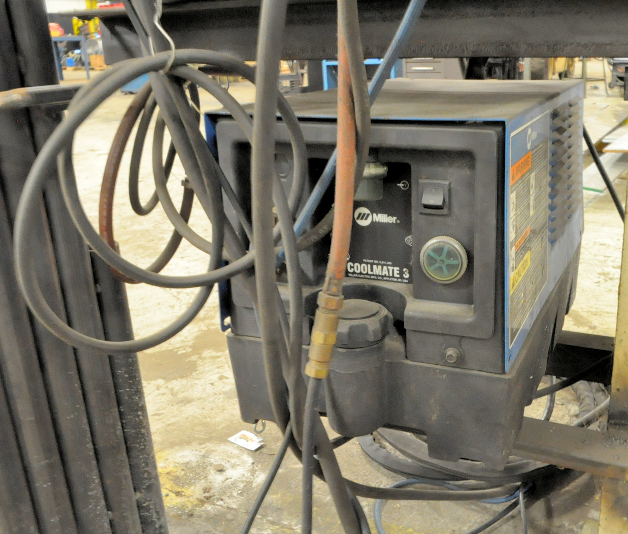 Miller Syncrowave 250, CC AC/DC Tig Welder, S/n KG090963 (1996), with Leads - Image 3 of 4