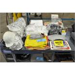 Lot-Hard Harts, TYVEK Suits and Ear Plugs and Safety Signs