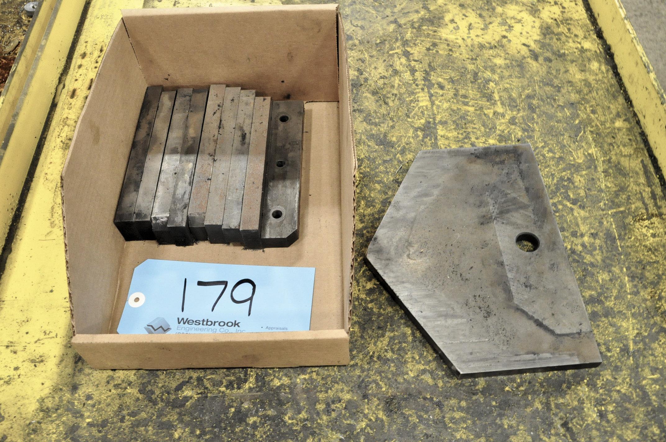 Lot-Whitney Angle Shear Tooling (1) Box with (1) Shear Blade