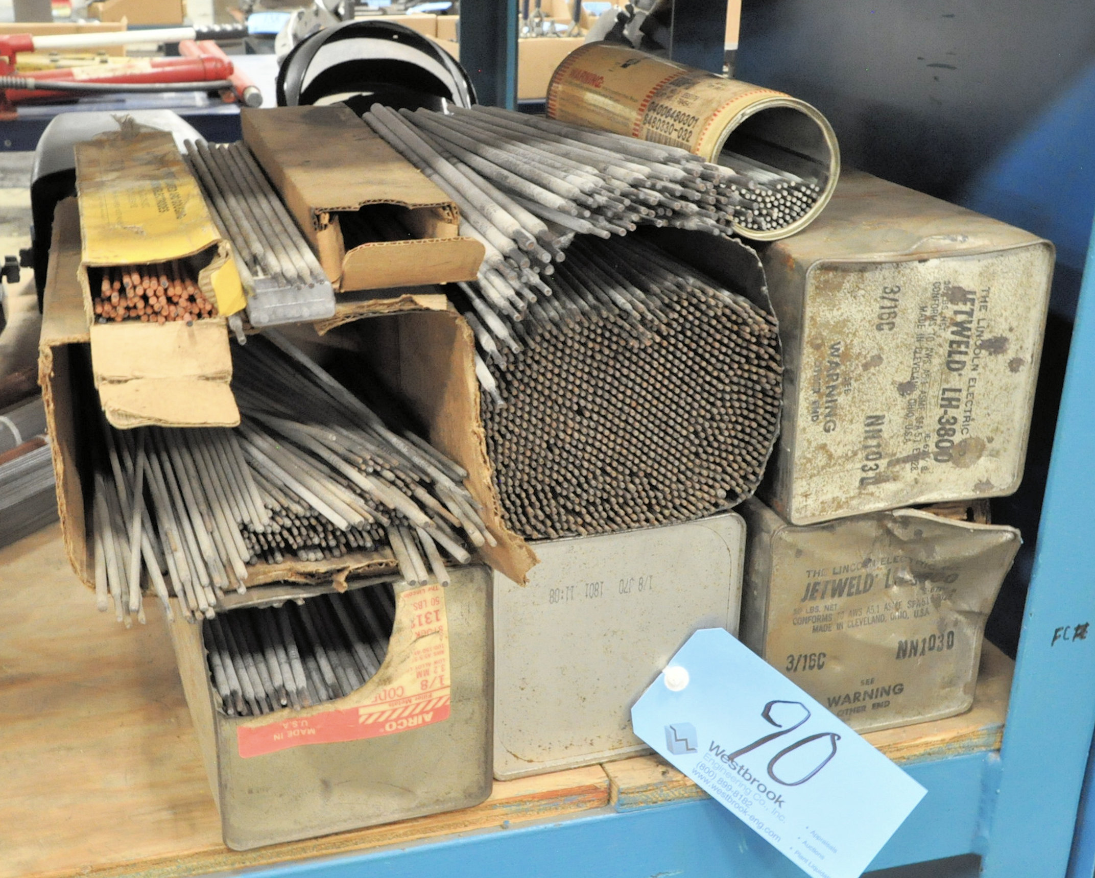 Lot-Arc Welding Electrodes in (6) Containers