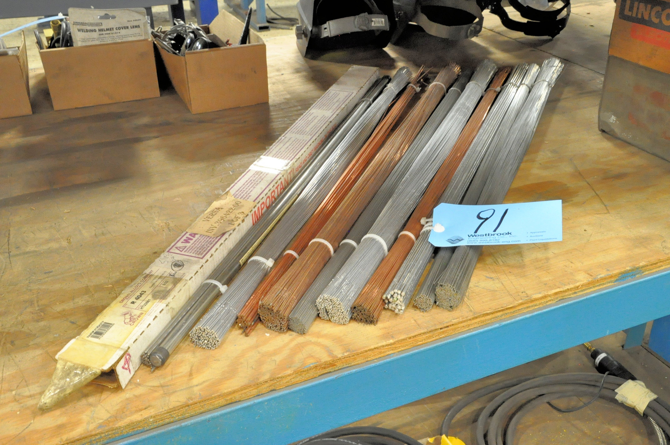 Lot-Tig Welding Rod in (10) Bundles and (1) Box
