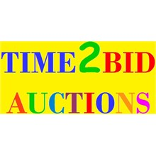 Time 2 Bid Auctions logo
