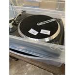2 Numark TT 1625 mixer decks.