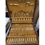 Canteen of Thaipan gold coloured cutlery.