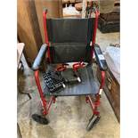 Enigma collapsible wheelchair.