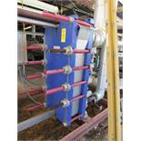 "Alfa-Laval Mdl.MK15BWFD Plate Heat Exchanger, expandable 24"" W X 58"" T, MAWP 150/250 psi @ 200º F"