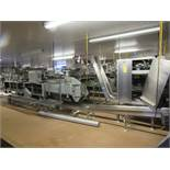 "Lot Stainless Steel Automatic Heading Machine, 8 stations, stainless steel ""Z"" conveyor, 18"" W X"