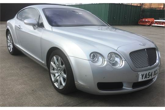 Bentley Continental Gt Automatic 5998cc Coupe Petrol Silver