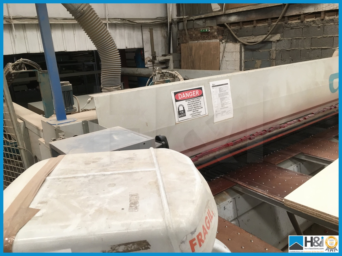 Giben 9910 Cnc Beam Saw With Computer 1999 Year Width