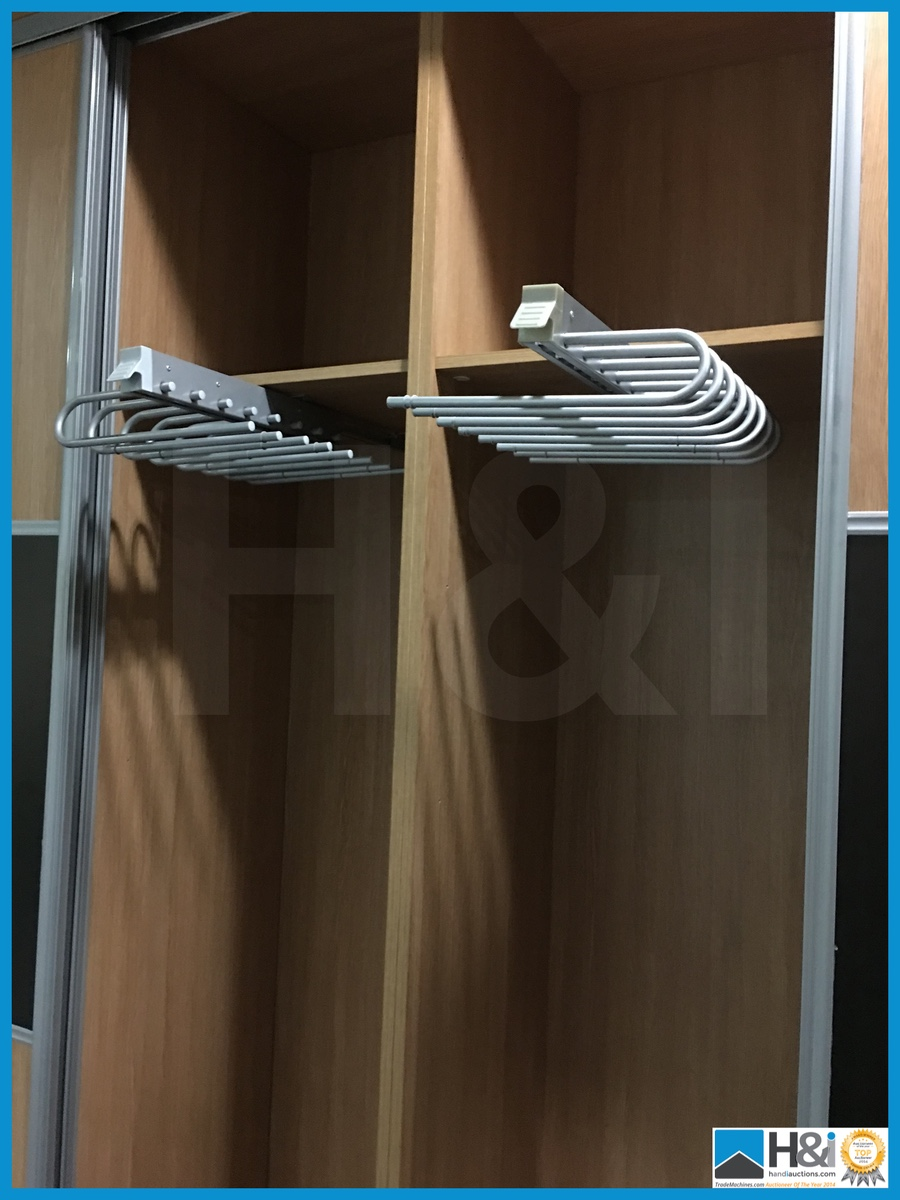 Beautiful Wardrobe Storage With Sliding Doors Pull Out