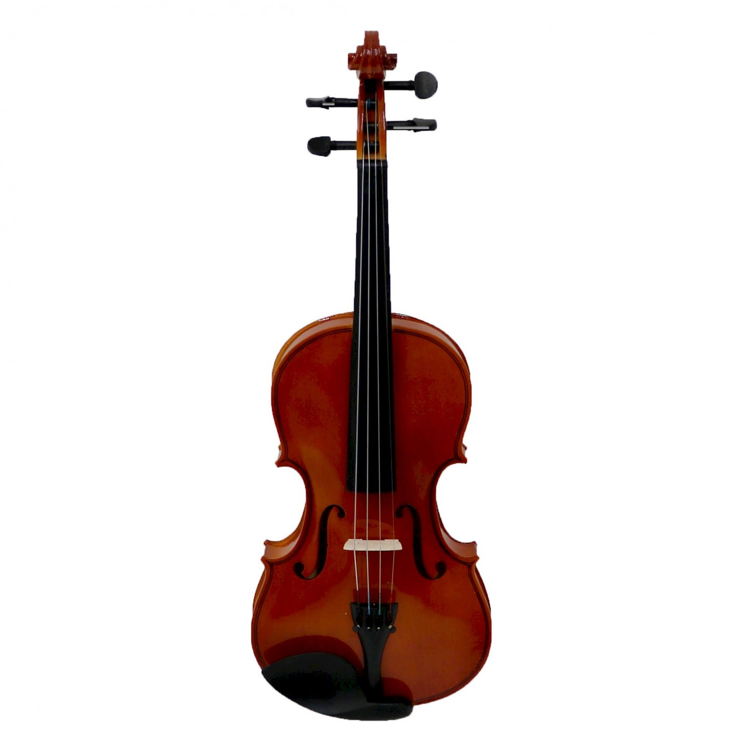 (RU43) Full Size 4/4 Acoustic Violin Set with Case, Bow & Rosin If you're learning to play v... - Image 2 of 2