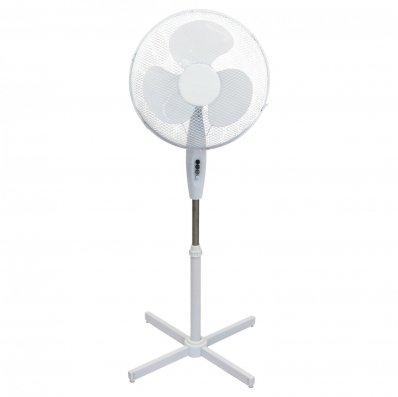 "(RU2) 16"" Oscillating Pedestal Electric Fan The fan head oscillates and tilts which mea..."