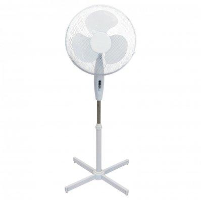 "(RU2) 16"" Oscillating Pedestal Electric Fan The fan head oscillates and tilts which mea..."