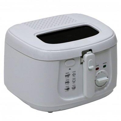 (RU20) 2.5L 1800W Electric Deep Fat Fryer Non Stick Chip Pan Basket Oil The 2.5L deep fat fr...