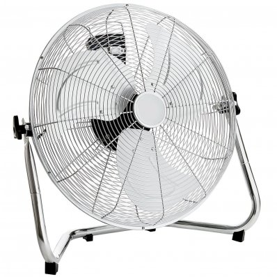 """(RU5) 18"""" Free Standing Chrome Gym Fan Stay cool this year with the 18"""" gym fan, The fan hea..."""
