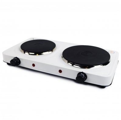(RU15) 2.5Kw Electric Portable Kitchen Double Hot Plate The 2.5kW electric hot plate is an e...
