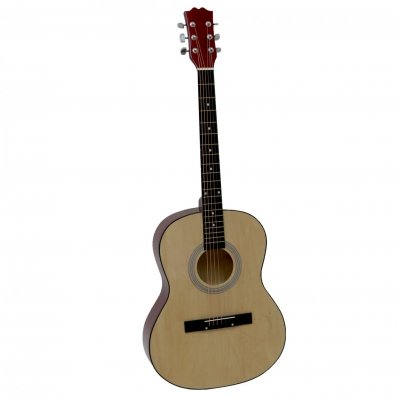"""(RU44) 39"""" Full Size 4/4 6 String Steel Strung Acoustic Guitar Perfect for beginners and exper..."""