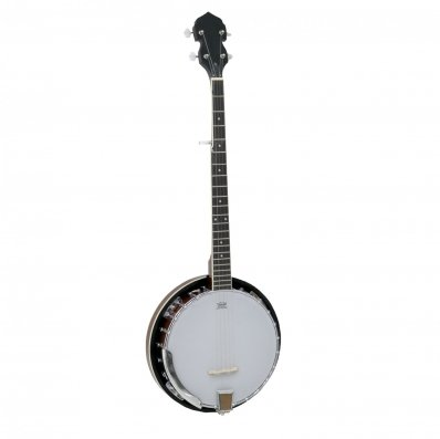 (RU45) 5 String Bluegrass Banjo with Remo Skin The 5 string bluegrass banjo is great looking...