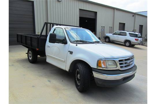 Ford F150 Xlt Heavy Duty Flatbed Work Truck With 7 1 2 39 X 9 39
