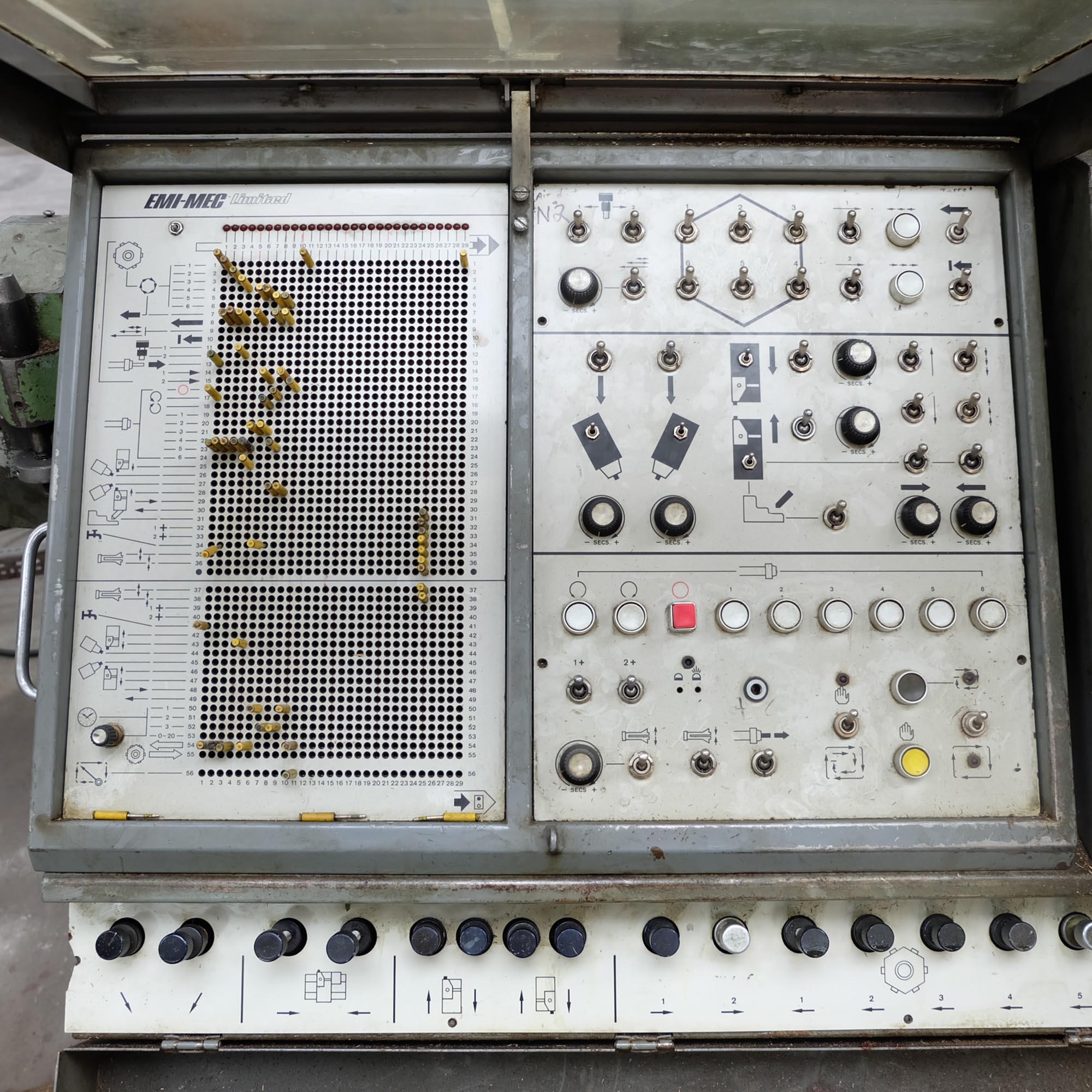 Emi-Mec Auto Sprint 'S' Plugboard Capstan Lathe. - Image 2 of 10