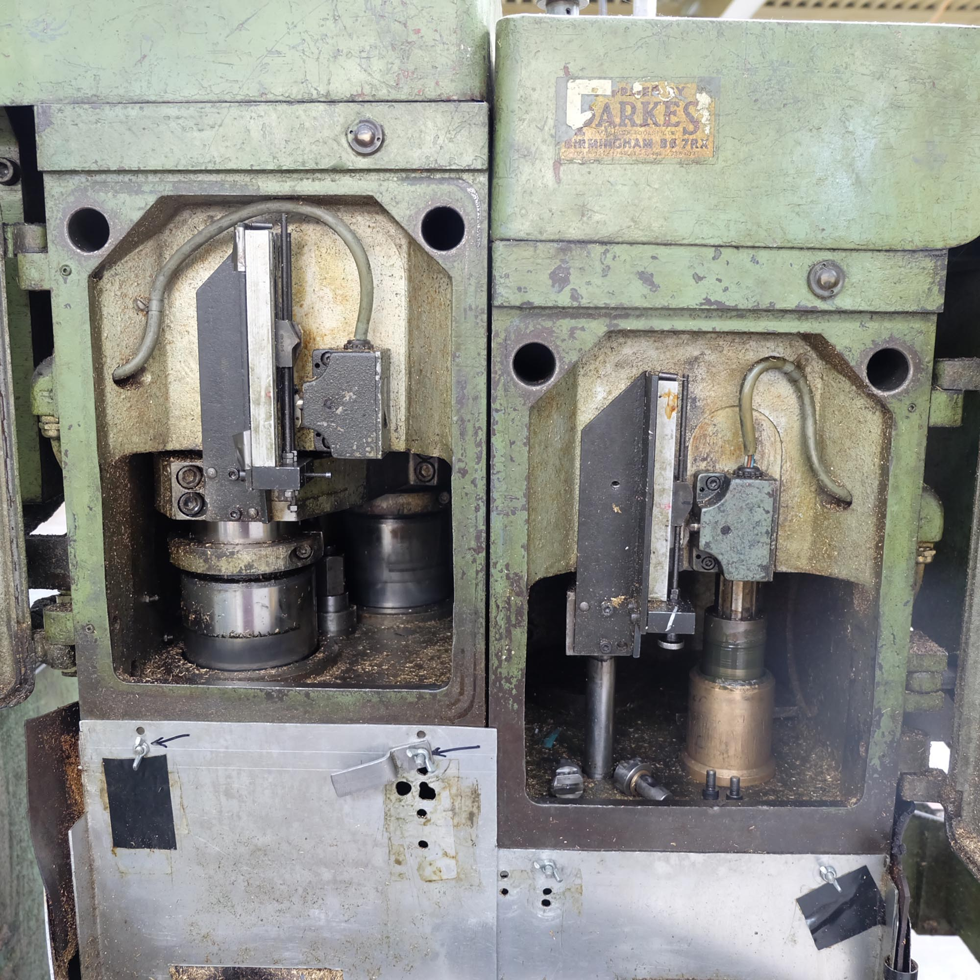 Witzig & Frank Model Adamat 4 B.G. Six Station Indexing Rotary Transfer Machine. - Image 3 of 13