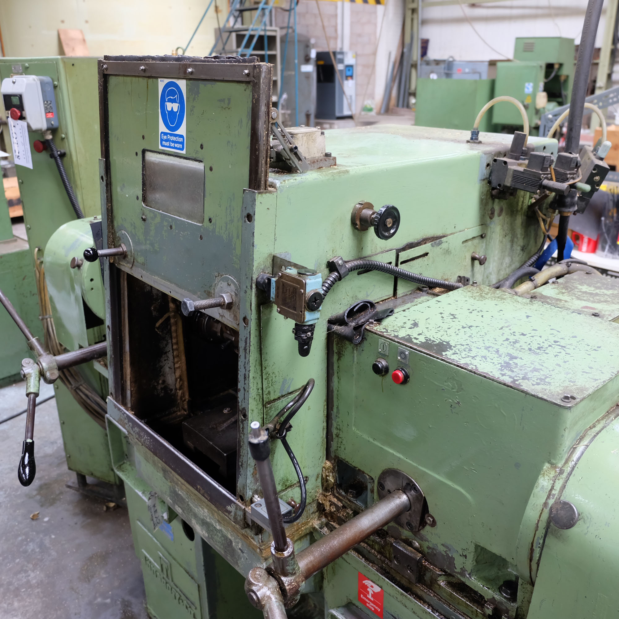 Jonshoff Model VH 111. Four Spindle Semi-Automatic Turning and Drilling Machine. - Image 4 of 9