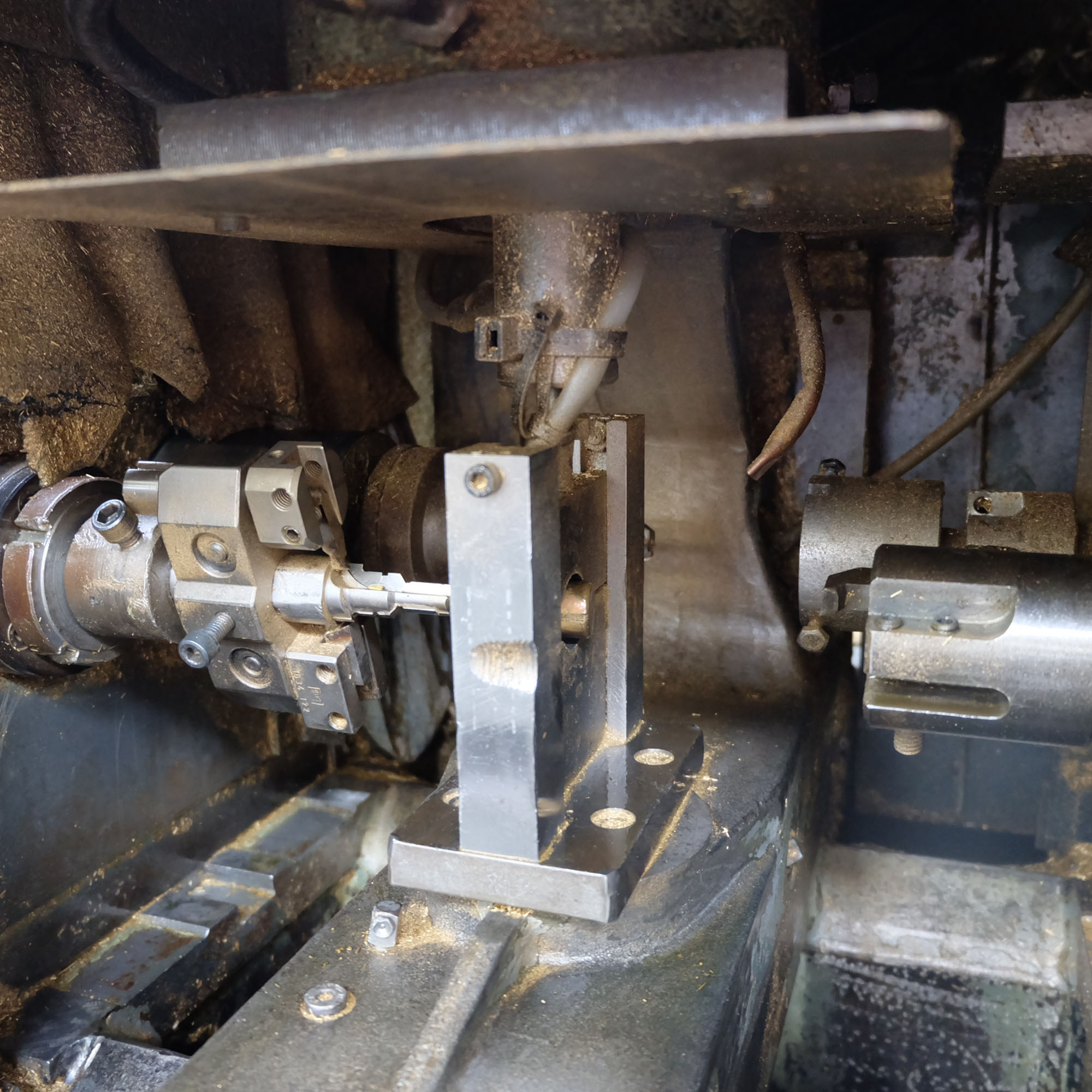 Jonshoff Model VH 111. Four Spindle Semi-Automatic Turning and Drilling Machine. - Image 3 of 9