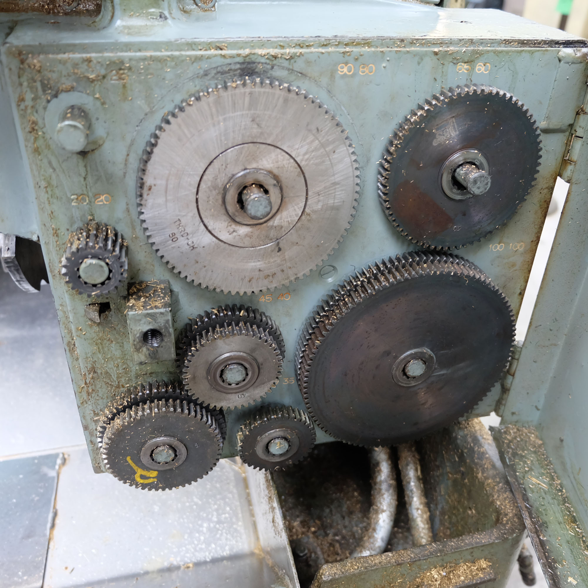 Brown and Sharpe No. 2B. 1 1/4 Inch. Four Speed Automatic Screw Machine. - Image 9 of 18
