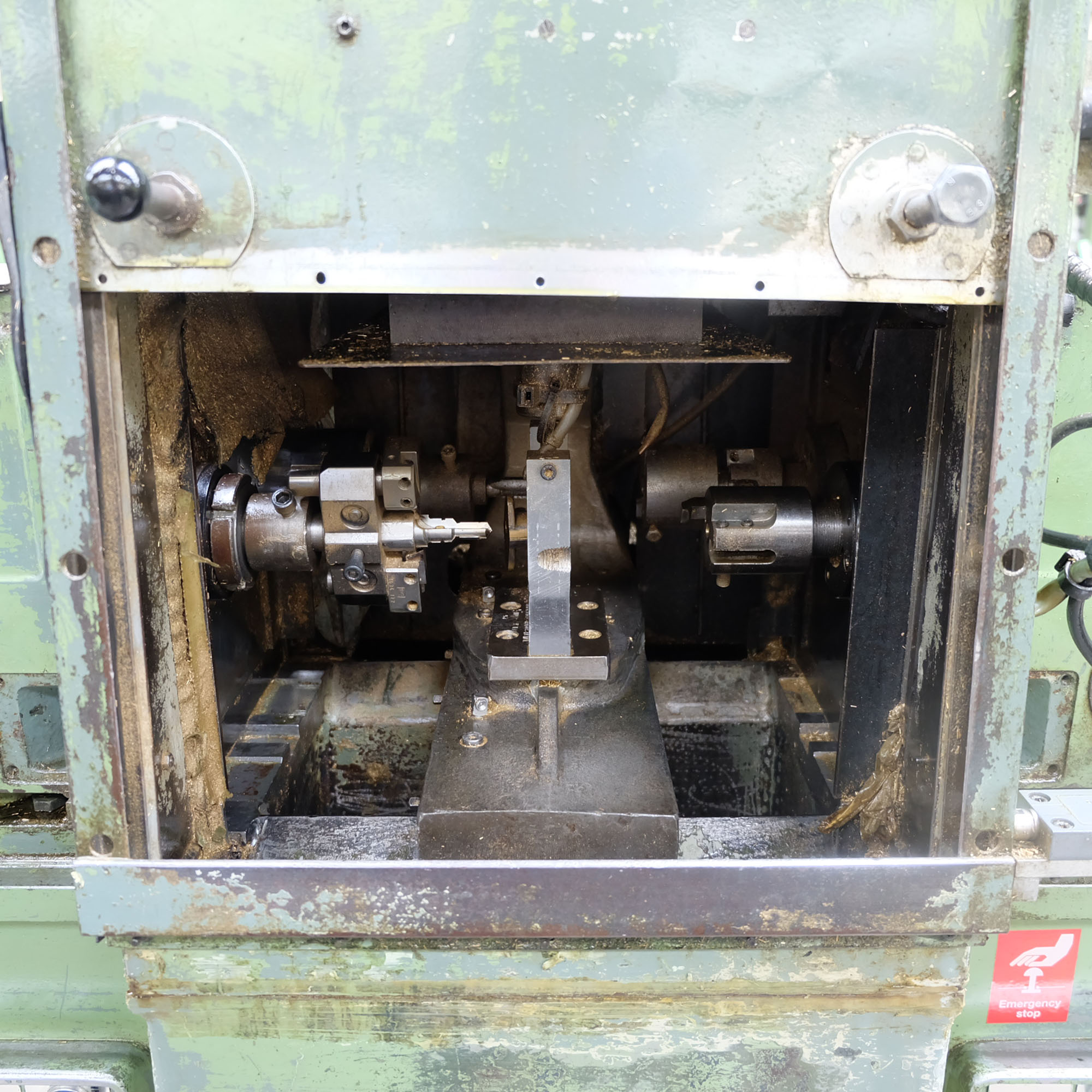 Jonshoff Model VH 111. Four Spindle Semi-Automatic Turning and Drilling Machine. - Image 2 of 9