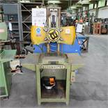 Burgmaster 6 Spindle Indexing Drill on Stand.