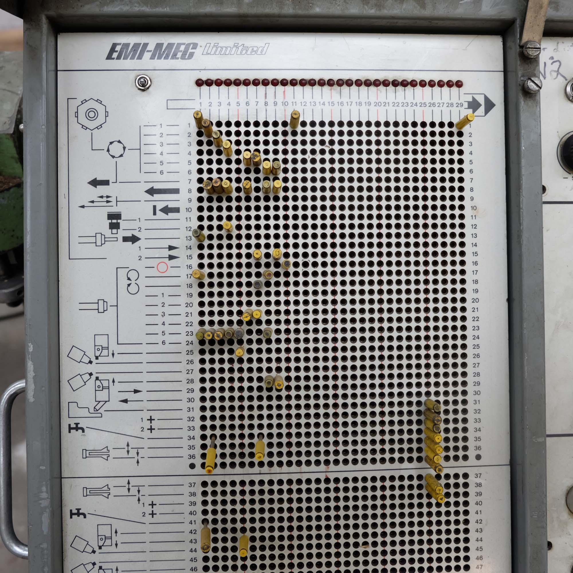 Emi-Mec Auto Sprint 'S' Plugboard Capstan Lathe. - Image 3 of 10