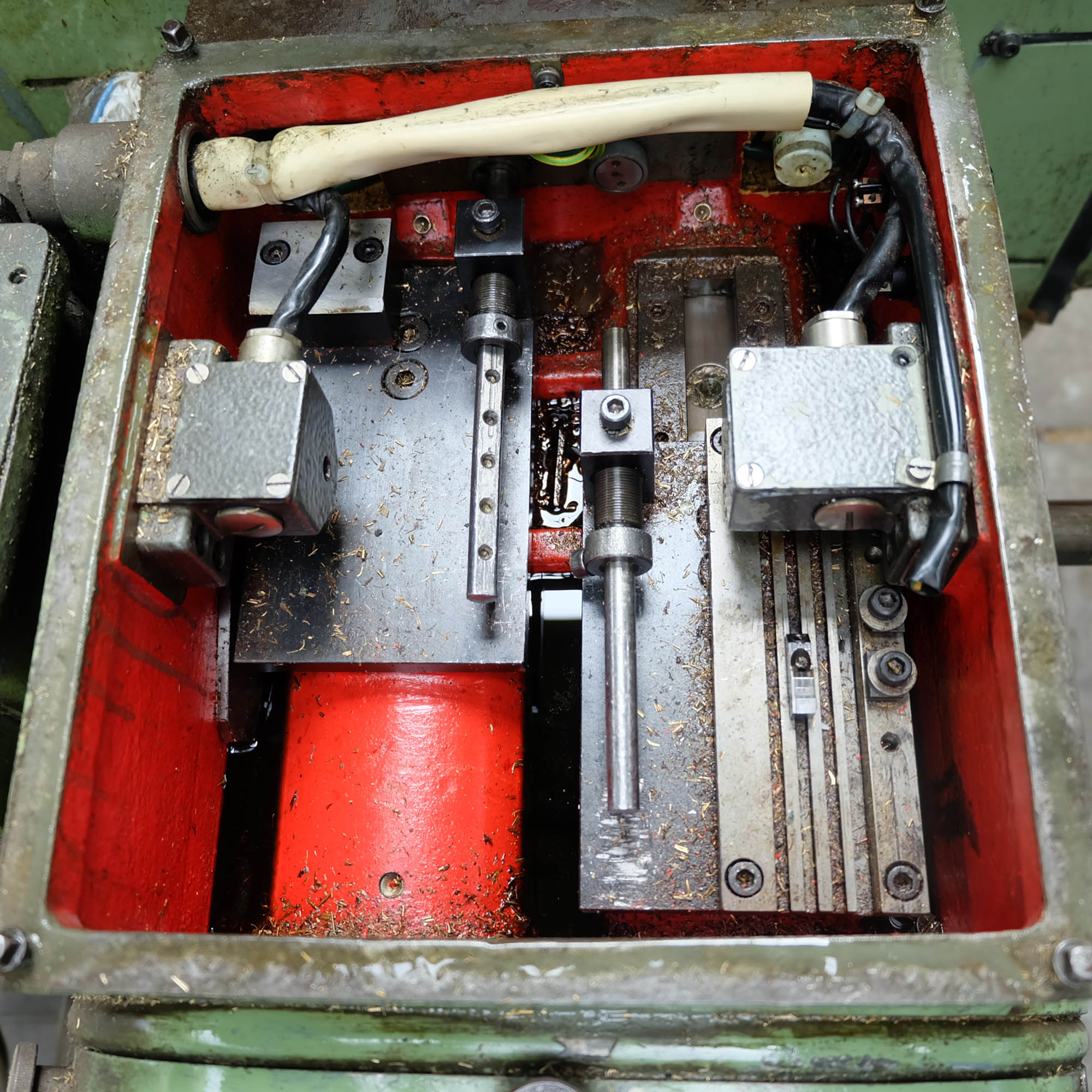 Jonshoff Model VH 111. Four Spindle Semi-Automatic Turning and Drilling Machine. - Image 6 of 9