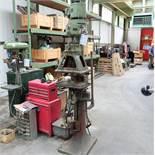 "Pollard Corona Model 12MXT Multi Spindle Head Drill. Table Size 14"" x 8 1/2""."