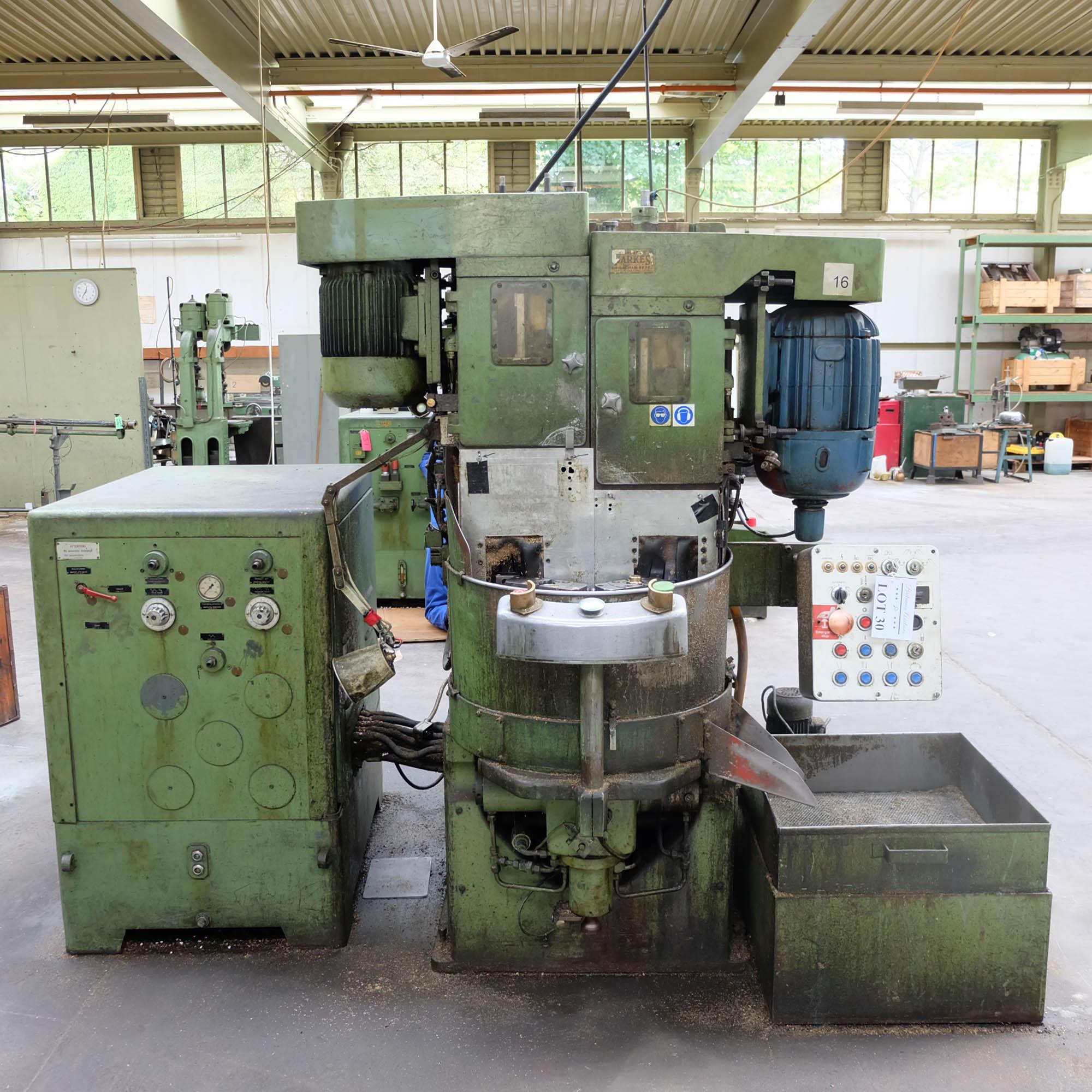 Witzig & Frank Model Adamat 4 B.G. Six Station Indexing Rotary Transfer Machine.