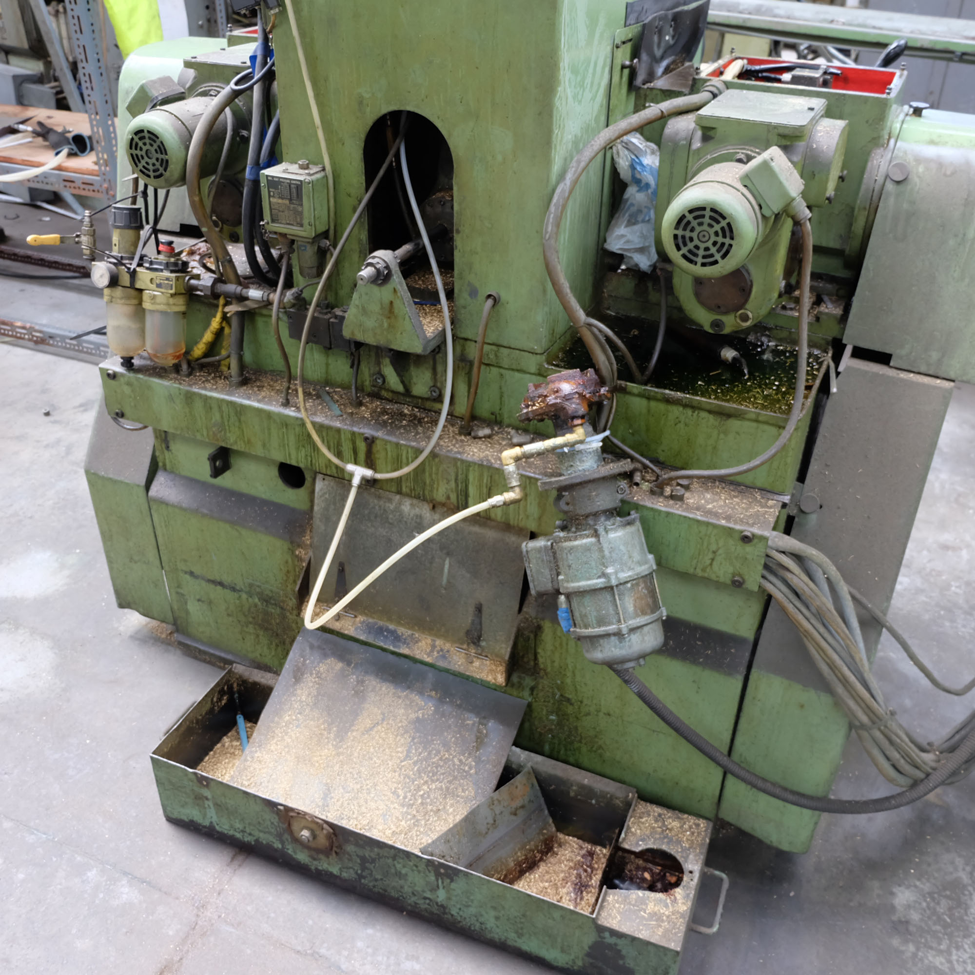 Jonshoff Model VH 111. Four Spindle Semi-Automatic Turning and Drilling Machine. - Image 8 of 9