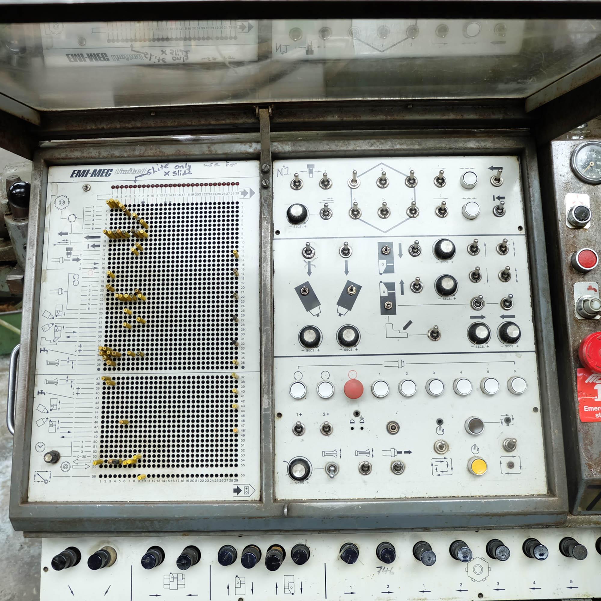 Emi-Mec Auto Sprint 'S' Plugboard Capstan Lathe. - Image 4 of 11