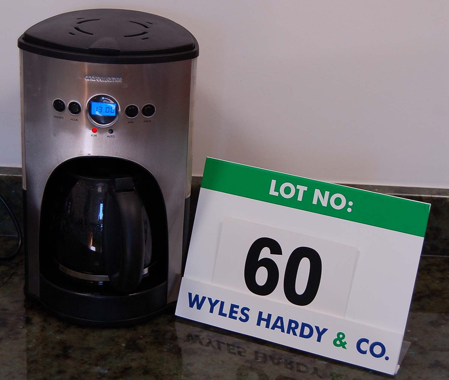 An ANDREW JAMES Bean to Cup Filtered Coffee Maker