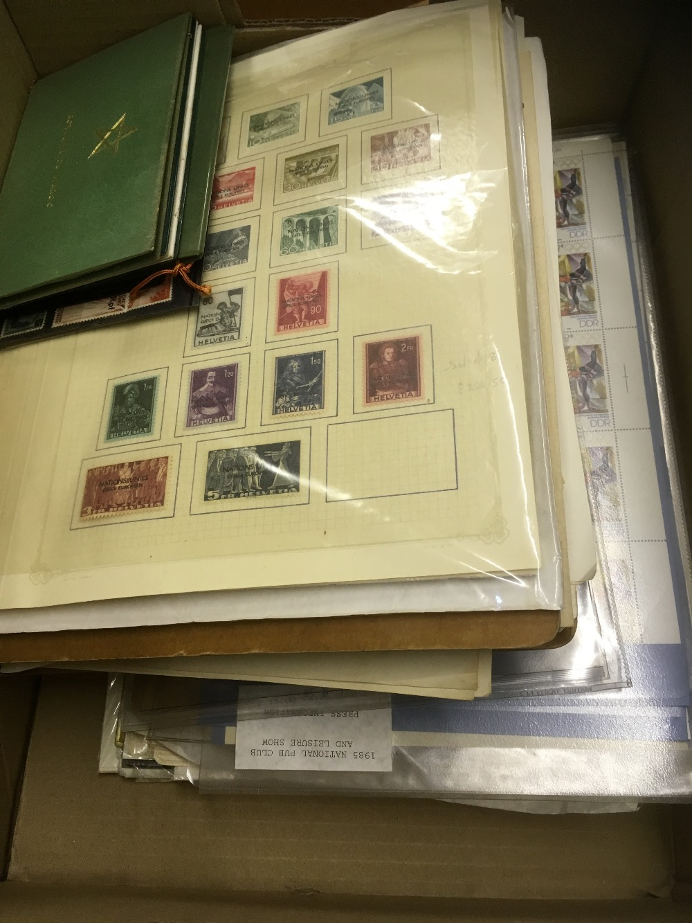 Lot 14 - STAMPS : World accumulation on pages & part collections,