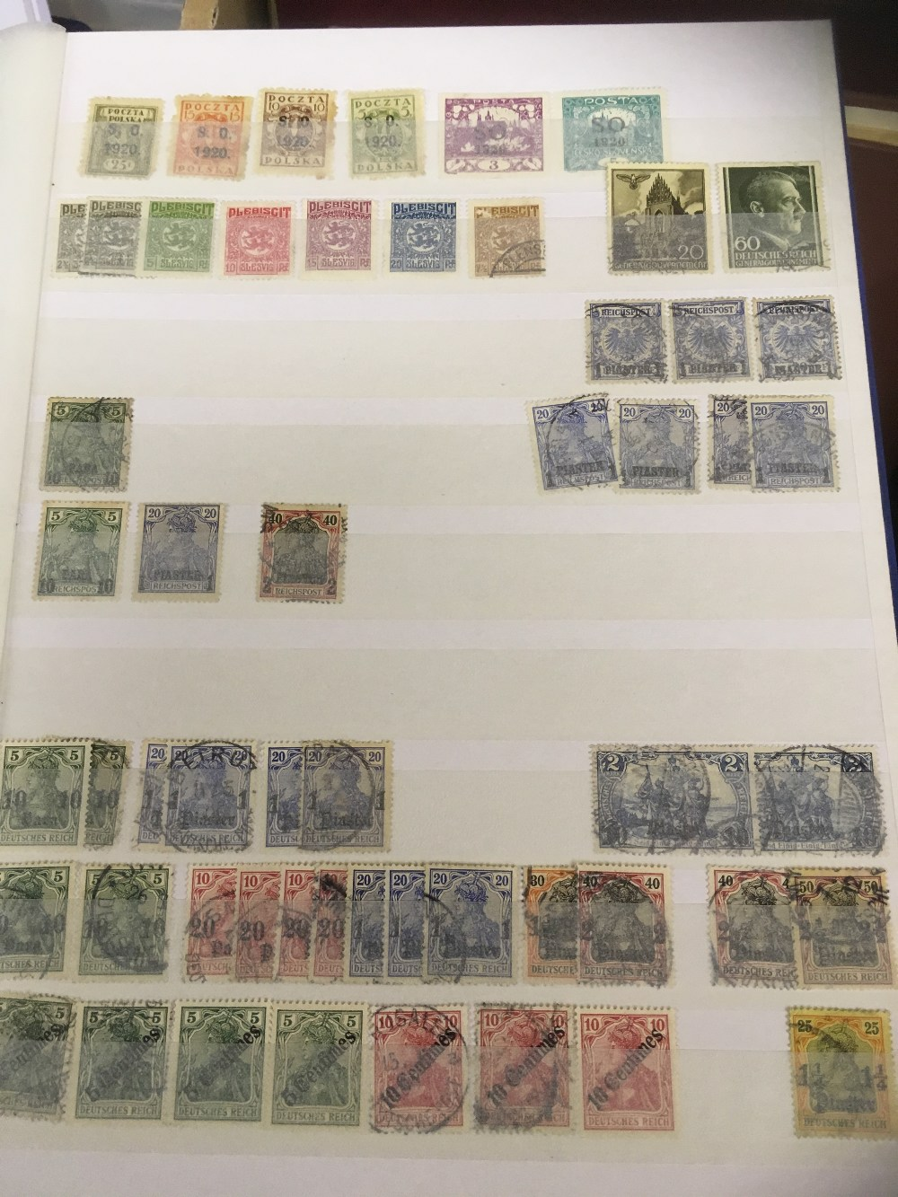 Lot 39 - STAMPS : Germany and France : Collection in five stock-books of Germany with various periods &