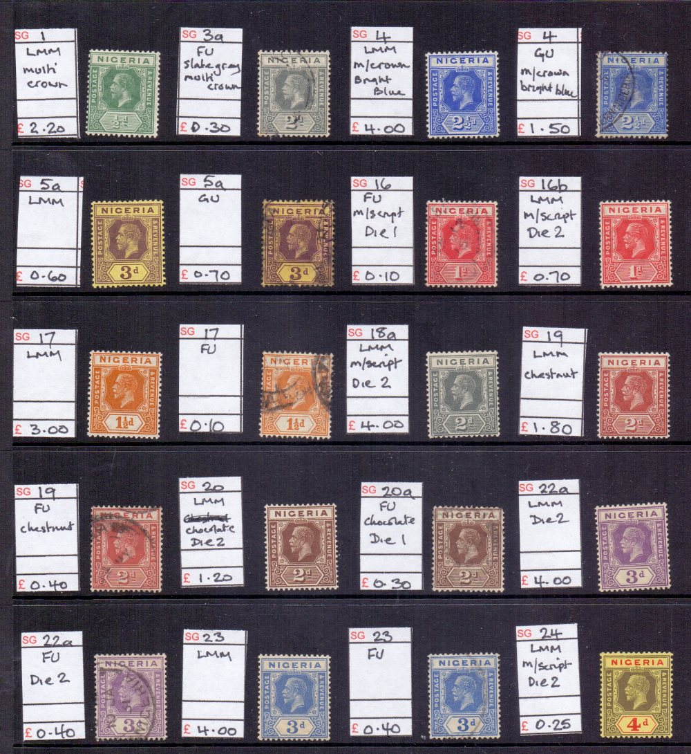 Lot 31 - STAMPS : BRITISH COMMONWEALTH mint and used ex-dealers stock in display book.