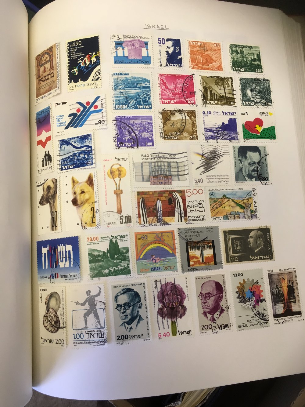 Lot 24 - STAMPS : World collection in ten springback albums, no GB or Commonwealth, mint and used .
