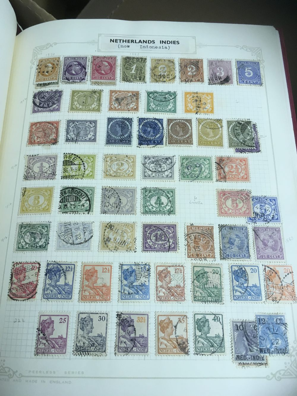 Lot 34 - STAMPS: WORLD, collection in seven albums with mostly foreign mint & used.