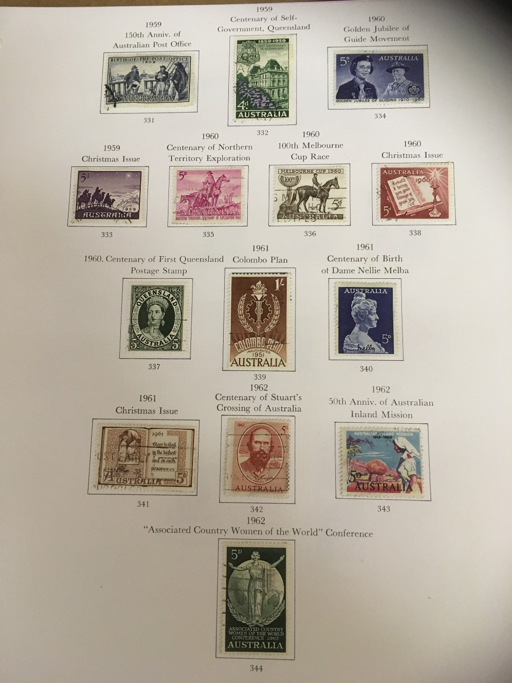 Lot 40 - STAMPS : AUSTRALIA, CANADA & NEW ZEALAND,