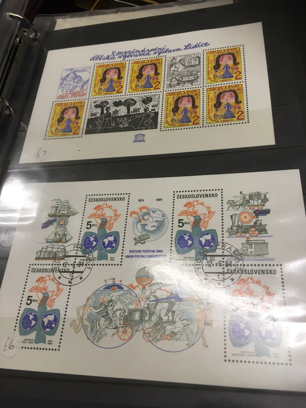 Lot 4 - STAMPS : World accumulation in two boxes,