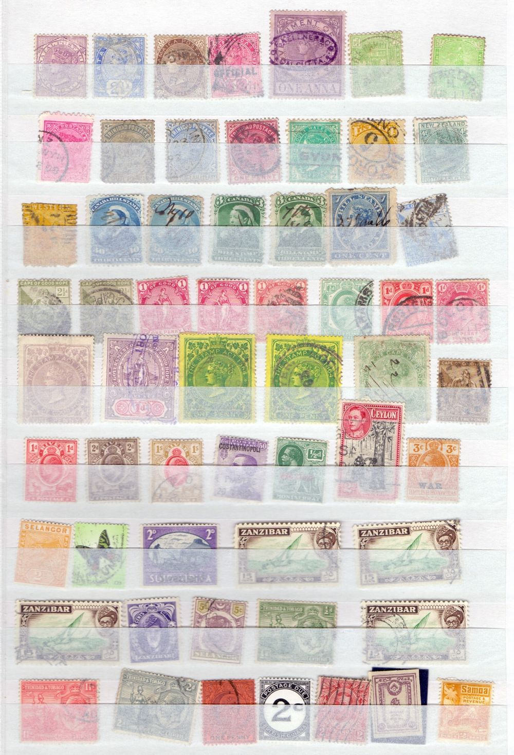 Lot 33 - STAMPS : BRITISH COMMONWEALTH accumulation in four stock books, mint and used,
