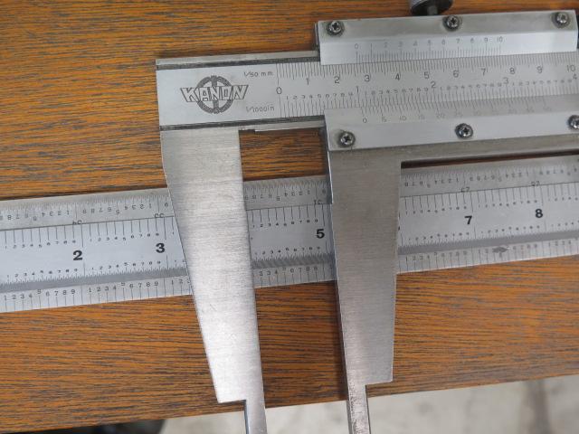 """Lot 43 - Kanon 24"""" Vernier Caliper and 36"""" Scales"""