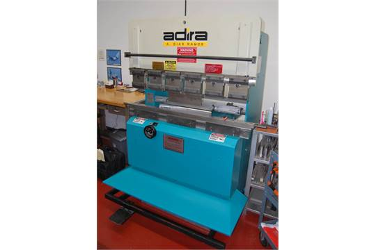 adira qha 2012 22 ton x 4 upacting hydraulic press brake with rh bidspotter com Press Brake Tooling Bantam Press Brake